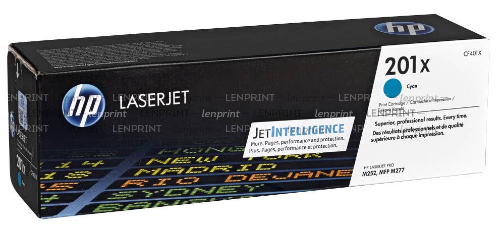 Картридж HP 201X CF401X Light Blue для CLJ Pro M252/M277