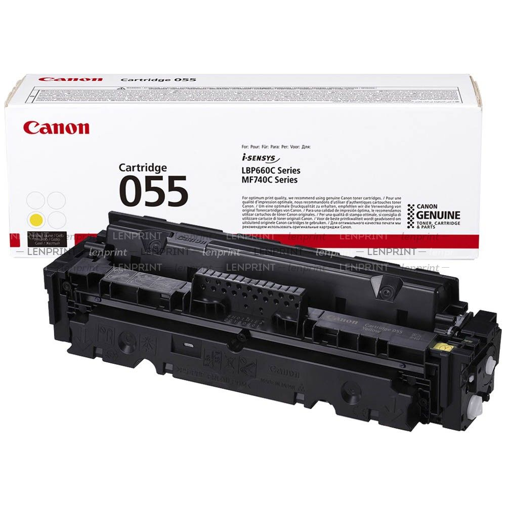 Canon Cartridge 055 Yellow